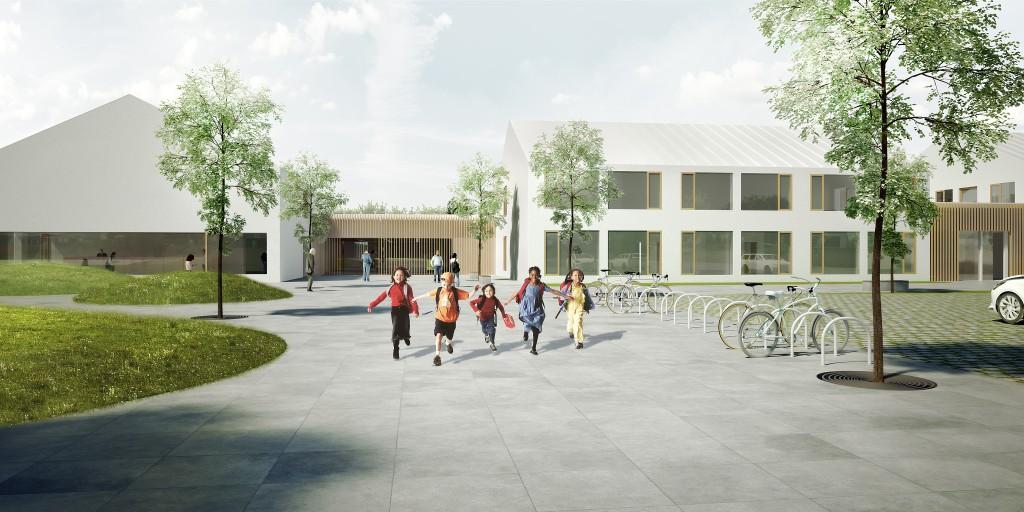 Vizualizace nové školy