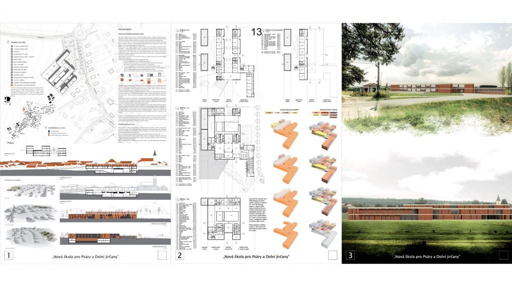 13 Urbanismus, vztah k obci: - těžké a mohutné cihelné ortogonální hmoty s plochými střechami nepůsobí souladným dojmem s kontextem obce. Architektura: výrazově odpovídá spíše 60-70. letům 20. století.