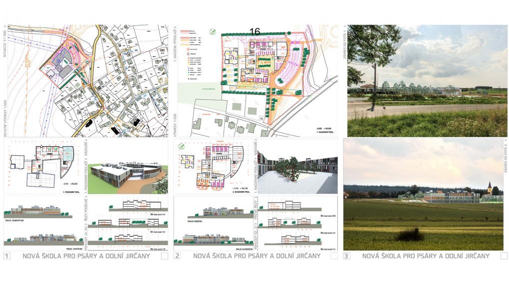 16 Urbanismus, vztah k obci, architektura : -návrh nereflektuje kontext obce ani v urbanismu ani v architektonickém řešení.