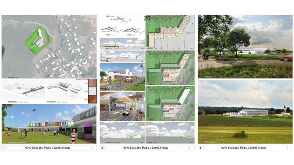 20 Urbanistické propojení s obcí, dispoziční řešení a prostorové schéma budovy je srozumitelné a uvěřitelné. Nabízený komfort viditelný. Vnější výraz je ledabylý. Anonymní administrativní budova či výrobní areál je formálně doplněn hravými barevnými prvky,jako případný signál sdělující obsah budovy.