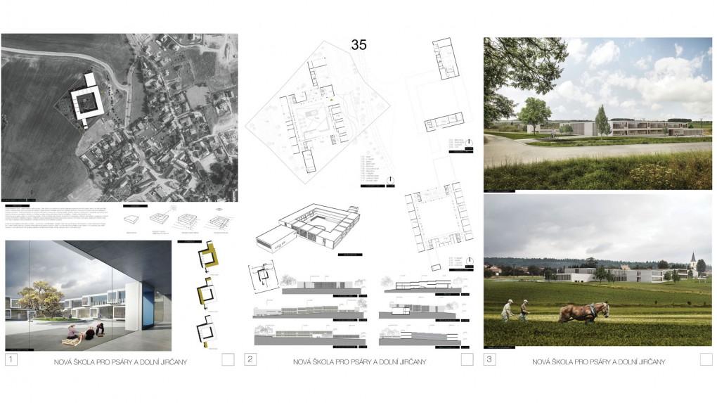 35 Škola má spíše výraz městského gymnázia. Stavba svojí ambicí výrazně přesahuje charakter obrazu školy na malém městě a v místním kontextu. Dobře fungující provoz.