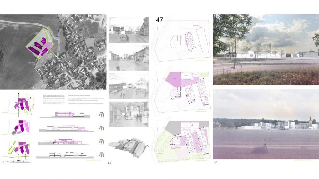 47 Srozumitelnému půdorysu, který záměrně pracuje s deformacemi prostoru, uškodila chaotická a nepřesvědčivá vizualita objektů.